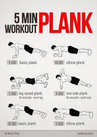 Fitness with Jamie: Plank Time!