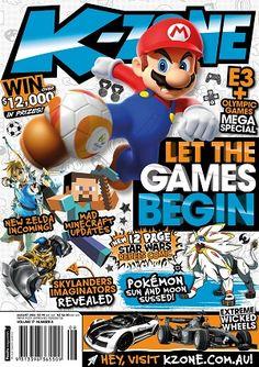 #KZone #magazines #covers #August #2016 #kids #comics #games #pokemon #skylanders #olympics #starwars