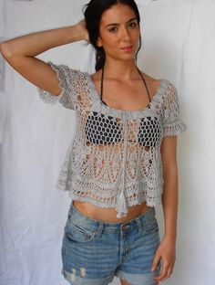 ana+kosturova+grey+puffed+sleeve+top