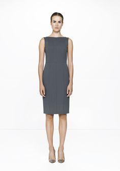 Grey JVU dress /9142  ELISE GUG SS15
