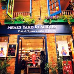 Did you know Neal's Yard Remedies (NYR Organic) started out in Covent Garden, London? That store is still in business today! We have lovely shops and spas worldwide; online in the US: www.everygoodthingorganics.com