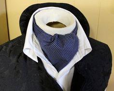 Pure Cotton  DAY Cravat Victorian Ascot Tie Cravat by elegantascot, $23.00