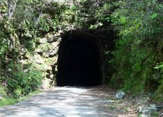 Stumphouse Tunnel in Oconee County, SC (the northwest corner county). Location of virtual cache GC4D11.