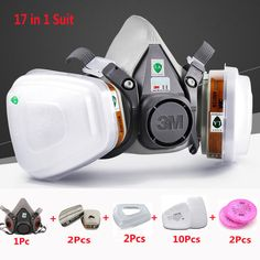 Personal Health Care Gas Masks With Goggles Safety Respirator Mask Anti Dust Pesticide Painting Spraying Industrial Emergency Survival Filter Ture 100% Guarantee Back To Search Resultsbeauty & Health