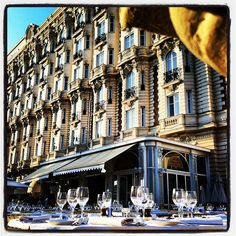InterContinental Carlton Cannes Carlton Restaurant Photo by ericboucherparis • Instagram