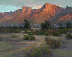 Desert Eve by Kim Lordier Pastel ~ 24 x 30