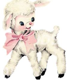 Vintage Image Shabby Baby Nursery Little Lamb Waterslide Decals Lamb Drawing, Sheep Drawing, Vintage Pictures, Vintage Images, Vintage Prints, Vintage Toys, Vintage Nursery, Illustrations, Vintage Greeting Cards