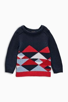 Buy Geo Crew Neck (3mths-6yrs) from the Next UK online shop