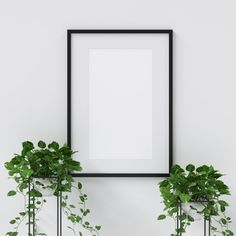 Frame mockup with plants decoration Premium Photo Cherry Blossom Background, Pink And White Background, Flower Background Wallpaper, Flower Backgrounds, Background Pictures, Wedding Invitation Card Design, Purple Wedding Invitations, Photo Frame Design, Identity Branding