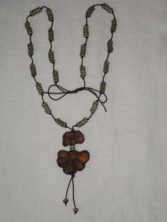 Aahuasca necklace by ecoreart on Etsy