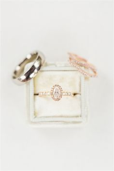 Spring Vineyard Wedding | Hill City Bride Virginia Wedding Blog - Jessica Green Photography - rings