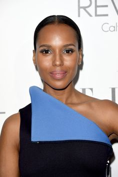 Pin for Later: Kate Middleton's Perfect Hair Should Have Its Own Royal Title Kerry Washington