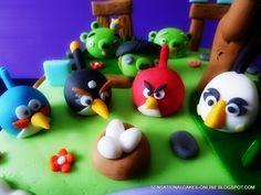 Angy birds cake