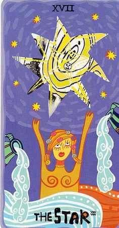 XVII. The Star: The Sakki Sakki Tarot