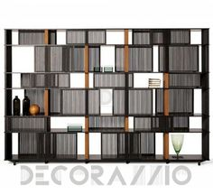 #BookCase #book_case #furniture #interior #design шкаф книжный Poltrona Frau Lloyd, 5607785