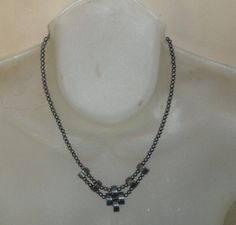 Vintage black strand seed Beaded choker by PatsapearlsBoutique, $9.99