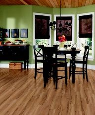 DuraPlank II Western Maple in Butternut Vinyl Flooring, Kitchen Flooring, Light Hardwood Floors, Luxury Vinyl Tile, Floor Decor, Sweet Home, Pure Products, Table, Dining Room