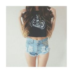 Tumblr Outfits. My Style ❤ liked on Polyvore featuring outfits and outfits hair and nails