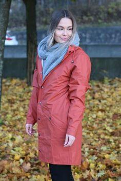 Rains - Long Jacket Rust