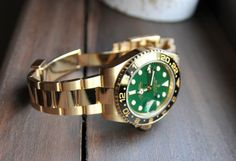 Rolex GMT Master II in Gold