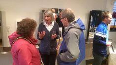 Ruth, Muriel and Dave at MG Hair