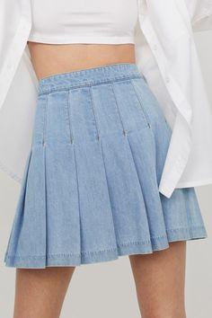 Waist Skirt, High Waisted Skirt, H M Outfits, Skirts, Fashion, Moda, High Waist Skirt, Fashion Styles, Skirt