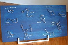 Space Guide Many small little ones like this would look super cute on ceilings or a border above a door. Maybe Foam Core board? Teaching Science, Science Activities, Science Projects, School Projects, Constellations, Constellation Art, Constellation Activities, Earth And Space Science, Space Theme