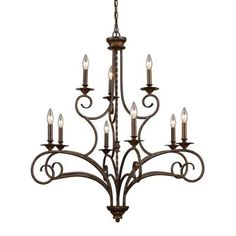 Buy the Elk Lighting Antique Bronze Direct. Shop for the Elk Lighting Antique Bronze Nine Light Chandelier from the Gloucester Collection and save. Indoor Lighting, Elegant Chandeliers, Elk Lighting Chandelier, Ceiling Lights, Chandelier Lighting, Lights, Bronze Chandelier, Bronze, Chandelier