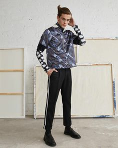 Justin Campbell, William Franklyn Miller, Cute Korean, My Boys, Vogue, Hoodies, Cotton, How To Wear, Fashion