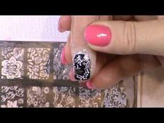 Bels Gels: Stamping with Foil - YouTube