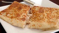 Crepes com Delicias do Mar