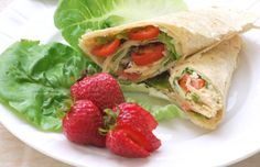 Hummus salad wrap, black bean and corn salad easy recipes for brown-bag lunches