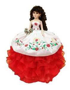 Find quinceanera charra dolls and muneca para quinceanera in custom colors. Zebra and Precious Moments quinceanera dolls here