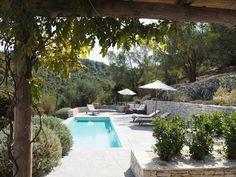 Travel - Villa Iriti, Corfu. Greek Island Heaven. - Roses and Rolltops