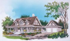 Home Plan The Briarcliff by Donald A. Gardner Architects