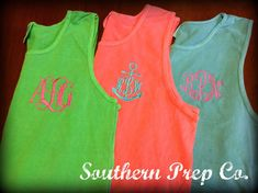 Comfort Colors Brand Monogrammed UNISEX/MENS by SouthernPrepCo