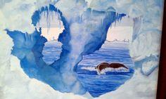 Iceberg w/whale