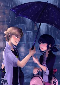 68 images about LadyNoir/Adrienette/Ladrien/Marichat on We Heart It   See more about ladybug, miraculous ladybug and Chat Noir
