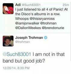 How could anyone not love joe
