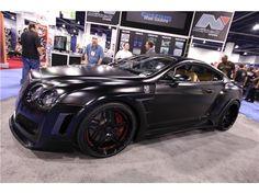 Satin Black VeilSide Widebody Bentley CGT - 2
