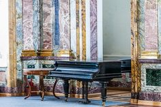 Grand in Marble Hall of the Marble Palace in St Petersburg, Russia