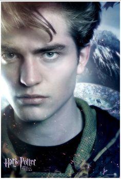 Robert Pattinson As Cedric Diggory in Harry Potter. Posters Harry Potter, Harry Potter Goblet, La Saga Harry Potter, Arte Do Harry Potter, Harry Potter Love, Luna Lovegood, Mike Newell, Robert Pattinson Movies, Fire Movie