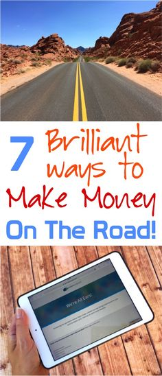 Making Money on the Road!  Such easy ways to earn money while traveling!