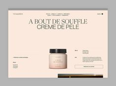 It comes from the Well on Behance Web Design Trends, Ecommerce Web Design, Cv Design, Page Design, Graphic Design Inspiration, Layout Design, Branding Design, Web Inspiration, Design Concepts