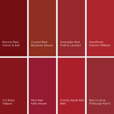 Rectory Red Farrow And Ball Bridesmaids Color Walls Accent