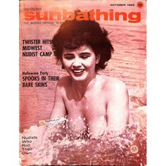Cover Print of Sunbathing, October 1962 | $6.60