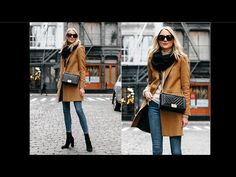 75 Best Camel Coat Outfit - YouTube Camel Coat Outfit, Outfits Mujer, Popular Dresses, Cozy Sweaters, Wool Coat, Coats For Women, Womens Fashion, Fashion Trends, Stylish