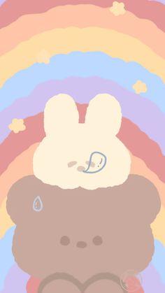 Cute Pastel Wallpaper, Soft Wallpaper, Bear Wallpaper, Cute Patterns Wallpaper, Cute Anime Wallpaper, Wallpaper Iphone Cute, Aesthetic Iphone Wallpaper, Disney Wallpaper, Cute Wallpapers For Iphone