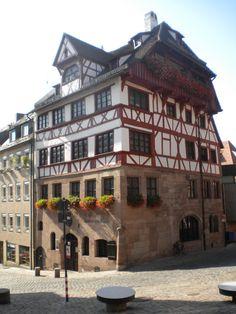 Albrecht Dürer's House - Nuremberg, Germany