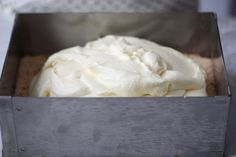 Lemon & White Chocolate Mousse Cake   Manuela Kjeilen   The Inspired Home White Chocolate Mousse Cake, Lemon, Inspired
